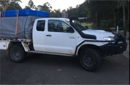 Wanted: Toyota hilux - set up ready for your adventure
