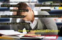 Writing Service-Editing, Essays, Course Work, Finance, Business
