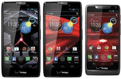 Motorola Droid Razr M,  Razr Maxx, Razr HD 32GB 16GB 8GB Verizon Smartphones