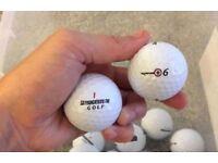 Bridgestone e6 Grade A x25 golf balls