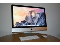 "Apple iMac 27"" High Spec 16GB ram SSD"