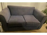 Navy two seater sofa- needs going this weekend!!!