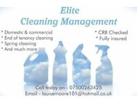 Elite cleaning management
