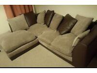 Corner sofa can deliver