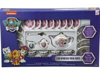 Brand New Paw Patrol 30 Piece Porcelain Tea Set