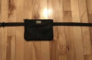 Designer Michael Kors Black Bag (Waistband)/ Sac MK