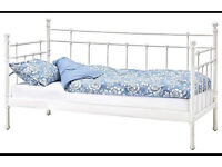 Ikea Tromsnes Metal Day Bed