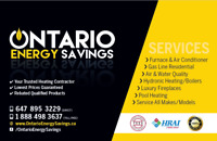 HIGH EFFICIENT FURNACES/ AIR CONDITIONING /TANKLESS (BEST PRICE)