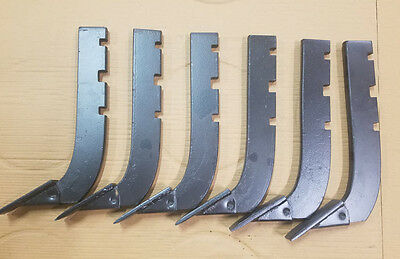 Lot Of 6 --replacement 3-slot Howse Box Blade Shank 16 Part  B-710-n Bb72n