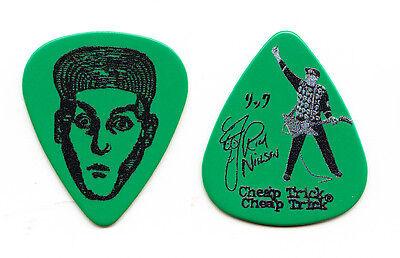 Cheap Trick Rick Nielsen Signature Green Guitar Pick - 2015 Tour