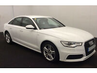 Audi A6 Saloon S Line FROM £88 PER WEEK!