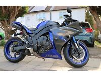 2014 Yamaha YZF R1 Big Bang 1000cc (Race Blue edition)