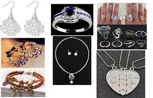 Bijoux de toute sortes pour la St-Valentin et autres occasions