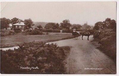 Headley Heath Surrey RP Postcard, B695