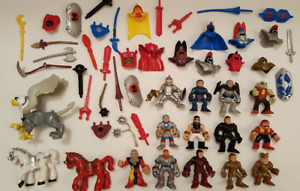 Imaginext Knights Horse Weapons Armor Accessories