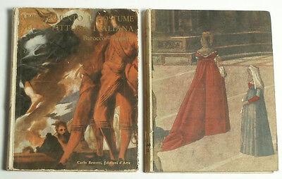 BOOK Baroque Empire Renaissance Costume/Fashion in Italian Painting clothing art