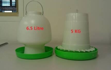 6L Chicken bird Drinker + 5KG Chicken bird Feeder Combo(WP6L)
