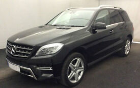 MERCEDES-BENZ ML250 350 CDI B/TEC SE EXECUTIVE AMG LINE SPORT FROM £119 PER WEEK