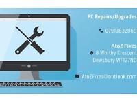 PC Repairs/Upgrades/Builds