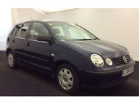 VW POLO 1.9 SDI DIESEL 2 OWNERS IMMACULATE HPI CLEAR ONLY 59,000M WARRANTED 1 YR MOT JUST SERVICED