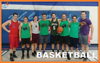 Play Adult, Co-ed, Recreational Basketball with FCSSC this Fall