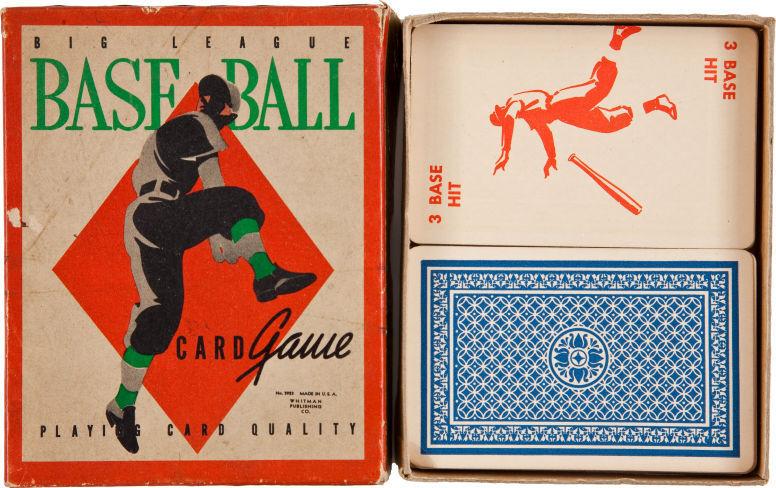 "1938 ""Big League Baseball Card Game""!!"