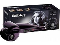 Babyliss secret hair curler
