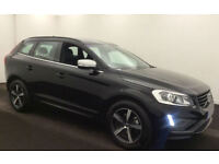 BLACK VOLVO XC60 2.4 D4 AWD R DESIGN LUX  2.0 SE 2WD G/T FROM £109 PER WEEK!