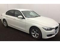 Alpine White BMW 320 2.0TD 2014 d EfficientDynamics FROM £41 PER WEEK!
