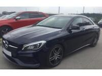 MERCEDES-BENZ CLA BLUE 200 D 2.1 AMG LINE COUPE DIESEL FROM £114 PER WEEK!