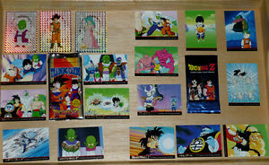 Dragonball Z cards ... in excellent condition ..