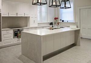 Quartz Countertop starts from $38/sqft, we carry all stone colors!