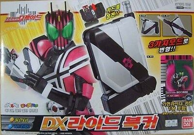 Bandai Kamen Masked Rider DECADE DX RIDE RIDER BOOKER NEW