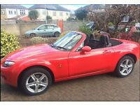 LOW MILEAGE RED MAZDA MX5 in EXCELLENT CONDITION! Quick Sale Wanted!