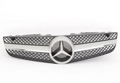 Neu Original Mercedes Benz Sl R230 Facelift Kühlergrill Matt Aluminium