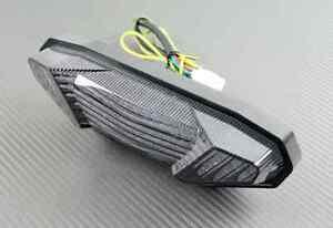 feu arriere led fum clignotant int gr smoke tail light yamaha mt09 fz9 mt 09 ebay. Black Bedroom Furniture Sets. Home Design Ideas