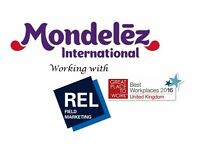 Mondelez - Field Sales Representative - Cardiff - Part Time!