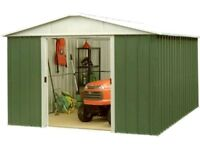 Wanted - metal shed built