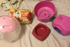 used Small animal accessories - hamster, mice, rats etc