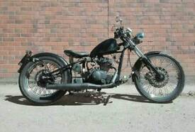 Sinnis Heist 125 - Learner legal bobber
