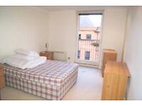 Spacioud double bedroom - The Bridge, City Centre, G2
