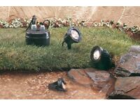 Garden rockery or pond lights