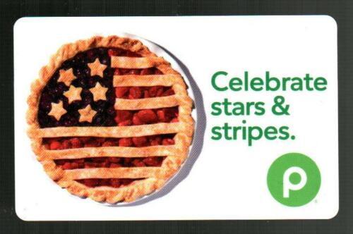 PUBLIX Pie, Celebrate Stars & Stripes 2021 Gift Card ( $0 )