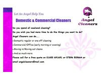 Domestic/Commercial Cleaners are taking new bookings now