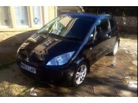 Mitsubishi Colt 57 - Black 1.1 Litre - Low miles - 1 Year Mot - CD player - 2007