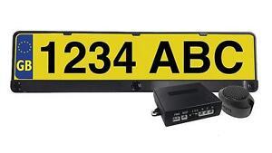 Honda Jazz Car Number Plate Rear Reversing Parking Aid Sensor Bar