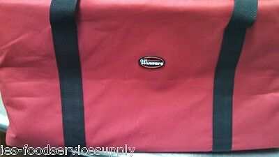 (lot of 6) 22x22x13 INSULATED CATERING / FOOD DELIVERY BAG 2 HRS@167 DEGREE