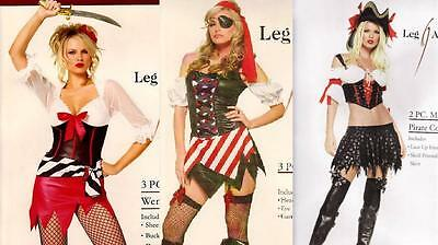 VENUE pirate SWASHBUCKLER captain HALLOWEEN party COSTUME (Leg Avenue-pirate Kostüm)