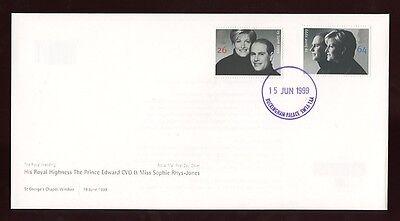 1999 WEDDING EDWARD + SOPHIE BUCKINGHAM PALACE CDS