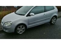 """5x100 Volkswagen Polo 9N 02-08 16"""" Borbet 5x Alloy Wheels with tyres 205/45 16"""